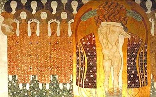 El friso de Beethoven.- Gustav Klimt