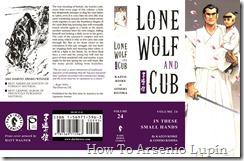 Lobo solitario y su cachorro T24