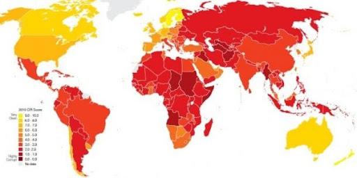 Korrupsjon i verden