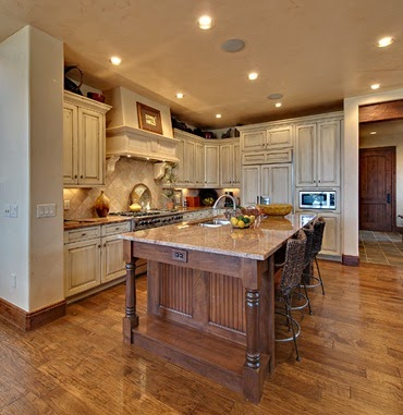 kitchen cabinets greenville sc water faucet designing your dream home: mountain homes-kitchens ...