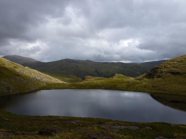 Climbing up Mt. Snowdon