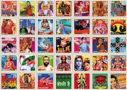 India Post Calendar 2009 - March