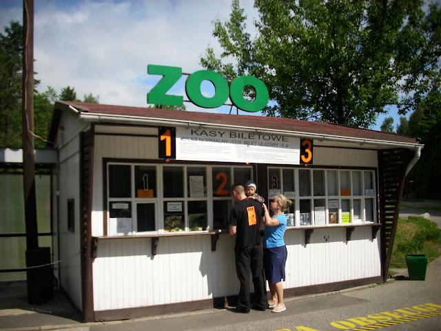 Oliwskie Zoo - kasa biletowa