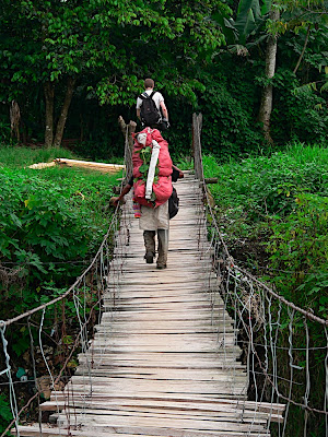Palmar Viejos rickety bridges