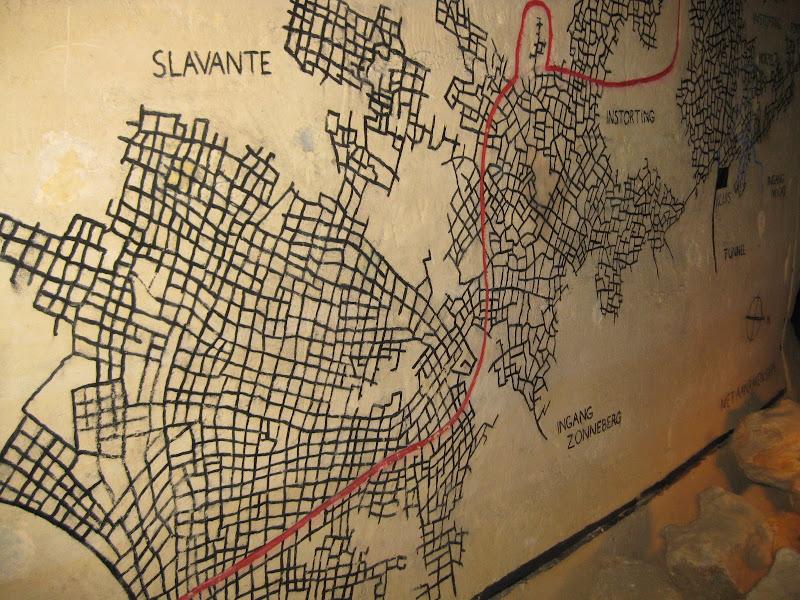 מפת המנהרות במאסטריכט