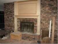 Lakeshore Cottage Living: Fireplace Makeover