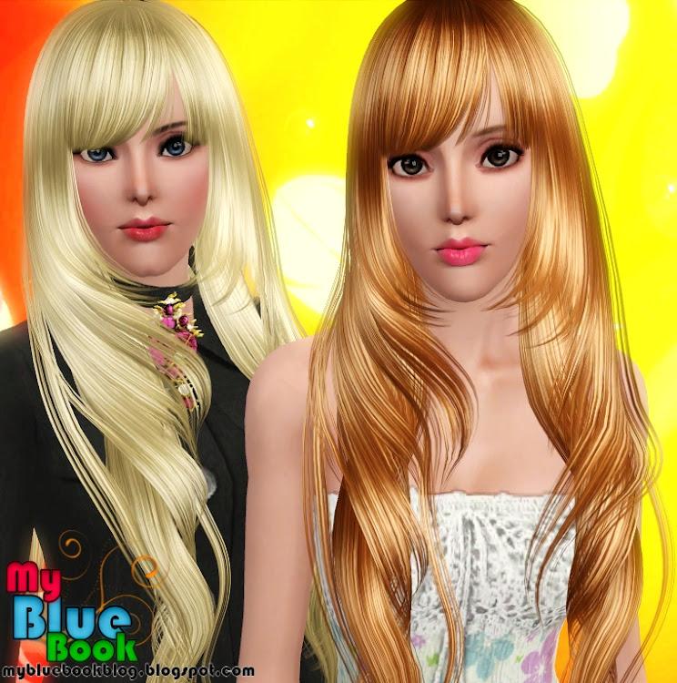 Simple y con estilo peinados sims 3 Fotos de tutoriales de color de pelo - Peinados y ropa para Los Sims 3 | Sims Cheats