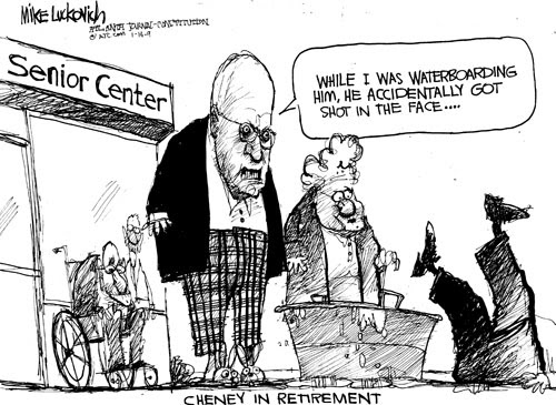 The Frustrated Teacher: Friday Cartoon Fun: Cheney