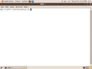 Install BURG to replace GRUB in Ubuntu
