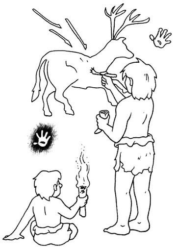 Dibujos De Cuevas Para Colorear