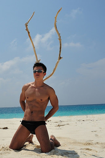 Asian Males Next Door Cute Taiwanese Guy On The Beach