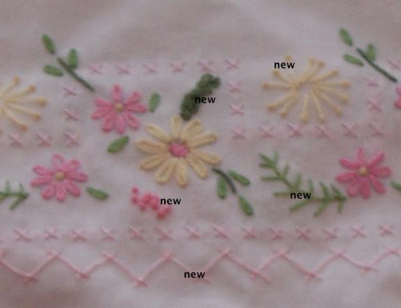 pillowcase closeup