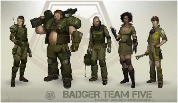 twitchfinger-badgers-character-lineup