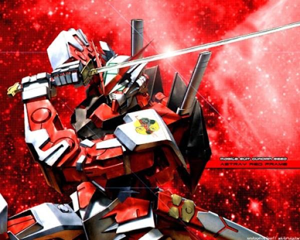 Gundam red