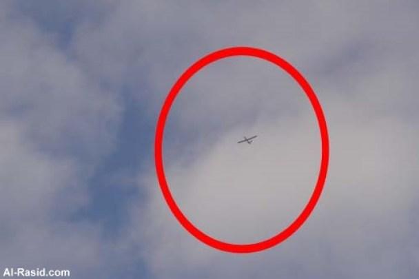 طائرة تجسس فوق غزة