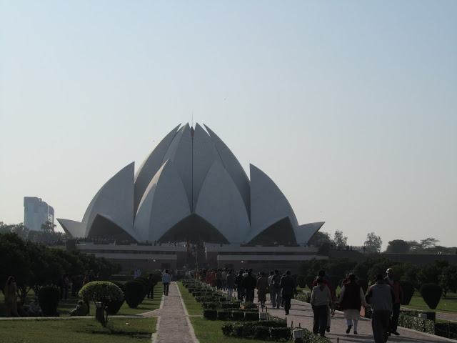 Bahá'í House of Worship(Called Lotus Temple)