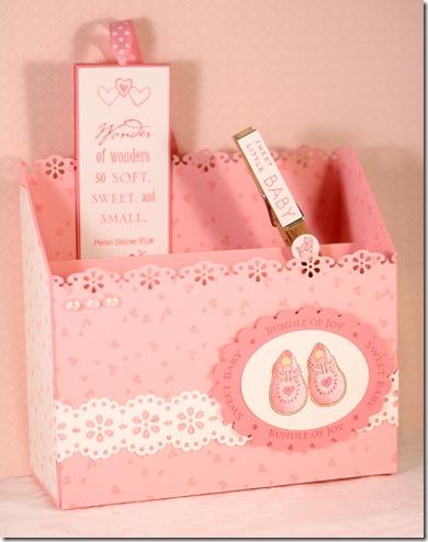 baby girl desk of