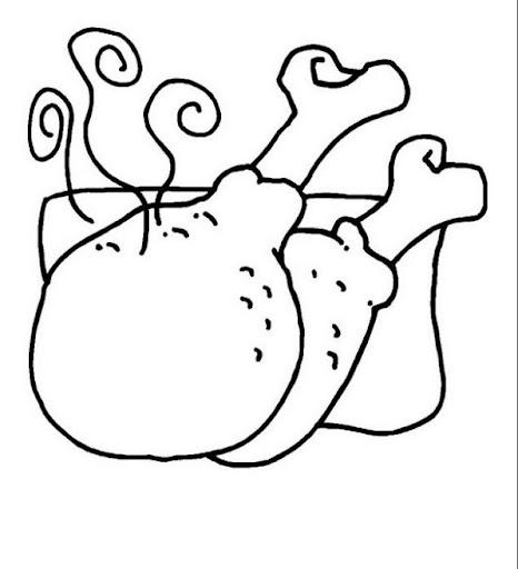 Dibujos para colorear de alimentos  Colorear dibujos