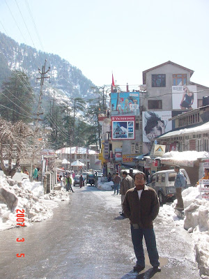 Just reached Manali - the first day
