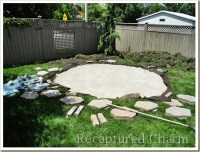 Recaptured Charm: Fire Pit Patio