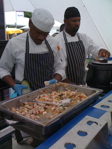barbados - taste of london food festival