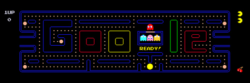 30 Anivarsario del Pacman en Google