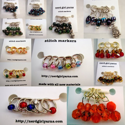 New Stitch Markers and Free Shipping