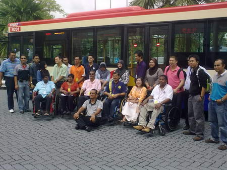 The representatives from OKU associations are generally pleased with the improvements. The bus manufacturer representative acknowledges that amendments based on user inputs at the early stage will not cause the cost to stray from that of the original bus design. This shows that RapidKL has learned its lessons well: engagement and consultation rarely fail.