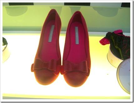 Red Felt Shoes