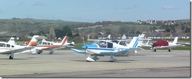 Planes at Shoreham Airport