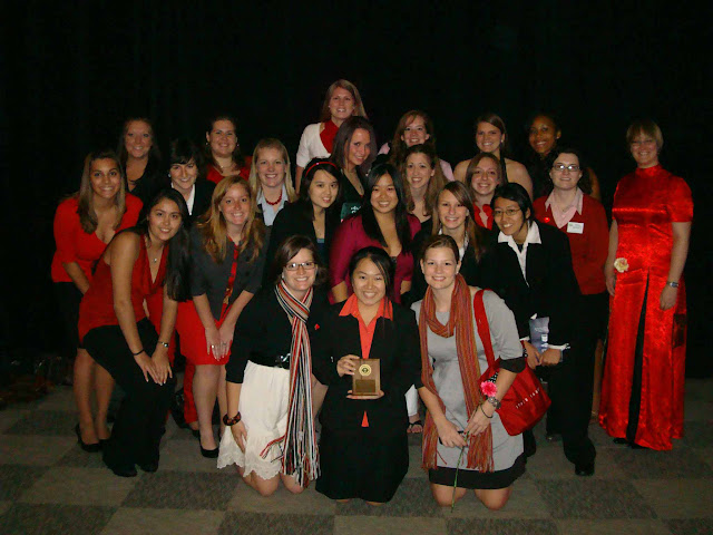 UIUC at National Conference 2008 with Gold OCS award!