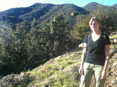 Emily among the hills