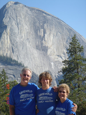 Griswold Family Vacation to Half Dome