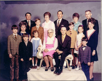 The Extended Walter Family, c. 1969