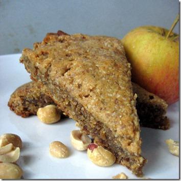 apple PB scones
