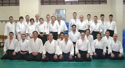 Seminario de Aikido y Jo-do en Valladolid