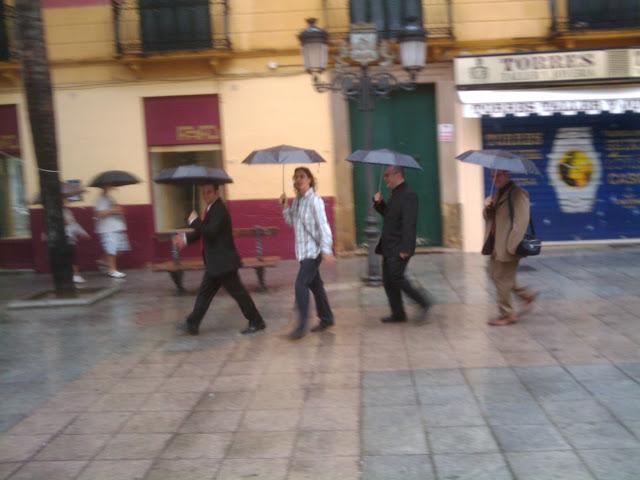 Invitados a la boda en Almuñecar