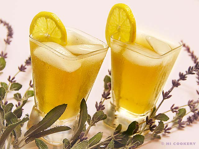 Maui Lavender-Mint Iced Tea
