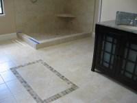 travertine vs. porcelain tile