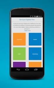 Serviços Digitais da Vivo screenshot 1