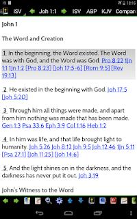 MySword Bible screenshot 12