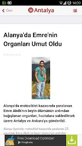 Antalya Haberleri screenshot 2