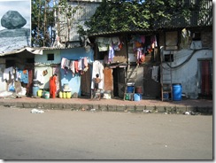 roadside slums