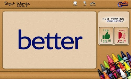 Sight Words - Level 5 screenshot 1