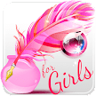 Write Text on Photos for Girls APK
