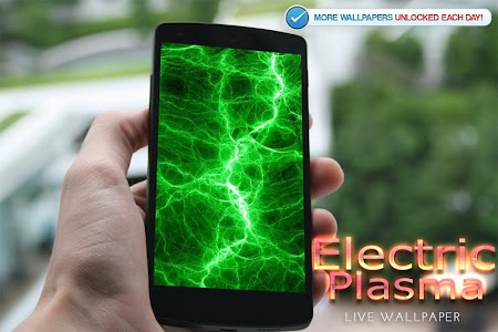 Electric Plasma Live Wallpaper screenshot 6