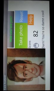 Face analyzer screenshot 1