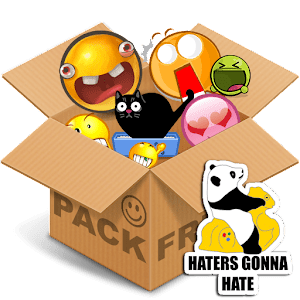 Emoticons pack Text & Stickers