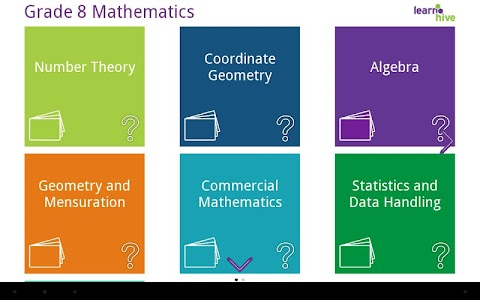Grade 8 Math Learning Cards screenshot 0
