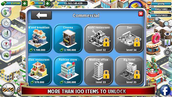 City Island: Winter Edition screenshot 02